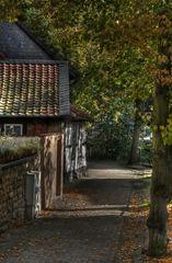 """GosLar - Unter-Stadt """" Herbstimpressionen am Frühenmorgen """""""