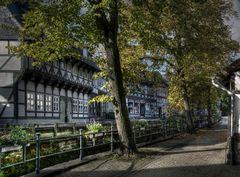 """GosLar- Unter-Stadt """" Herbstimpressionen, entlang der Abzucht """""""