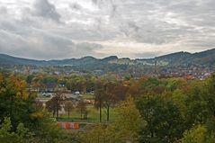 "Goslar vom Petersberg "" Blick auf Goslar, im Herbst """