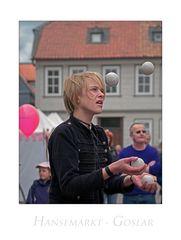 """GosLarer - Hansemarkt - Impressionen """" der Gaukler...."""""""