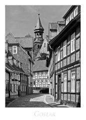 """GosLarer-Impressionen """" Blick zur Frankenberger Kirche...."""""""