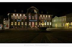 """GosLarer-Impressionen """" der Blick zum Kaiserringhaus, bei Nacht..."""