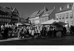 """GosLarer Impressionen """" Kaisermarkt in GosLar um den Marktbrunnen """""""