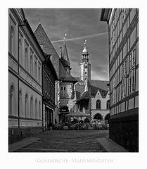 """GosLarsche Impressionen """" Blick, zur Marktkirche St. Cosmas und Damian"""""""