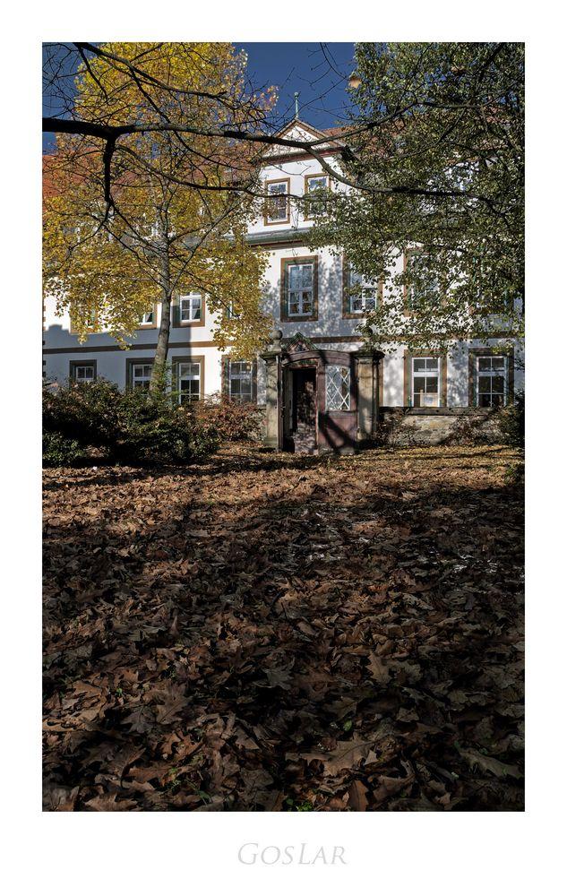 """GosLarsche Impressionen """" der Blick, vom Ulrich'schen Garten im Herbst """""""