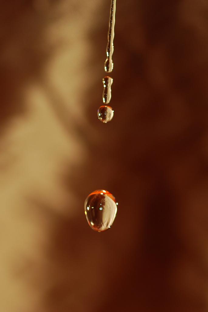gotas de oro