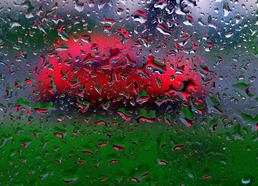 Gotas en mi ventana