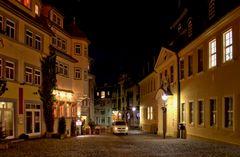 Gotha, abendlicher Brühl