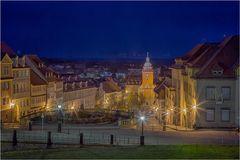 Gotha Blick zum Rathaus