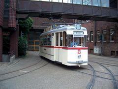 Gotharer Tw 62 in Gelsenkirchen am ehmaligen Bertiebshof