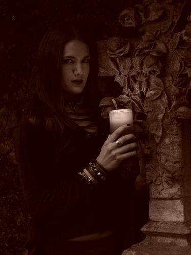 Gothicshooting mit Sabrina