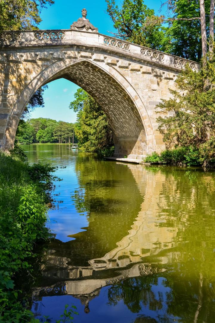 Gotische Brücke, Laxenburg Schlosspark