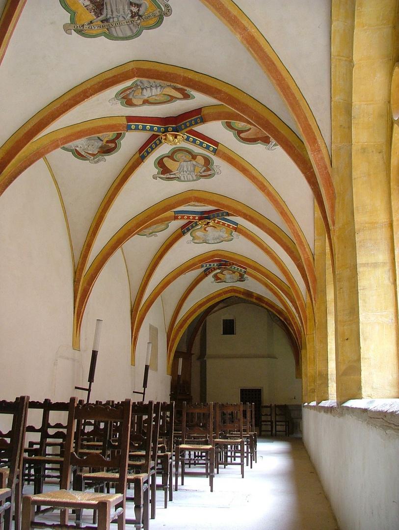 gotischer Kreuzgang Jung St. Peter Straßburg