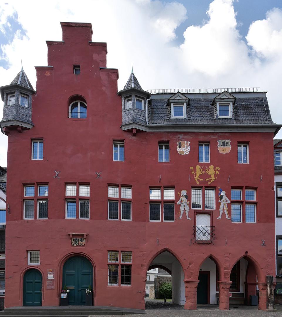 Gotisches Rathaus (15 Jhdt.) in Bad Münstereifel, Marktstraße