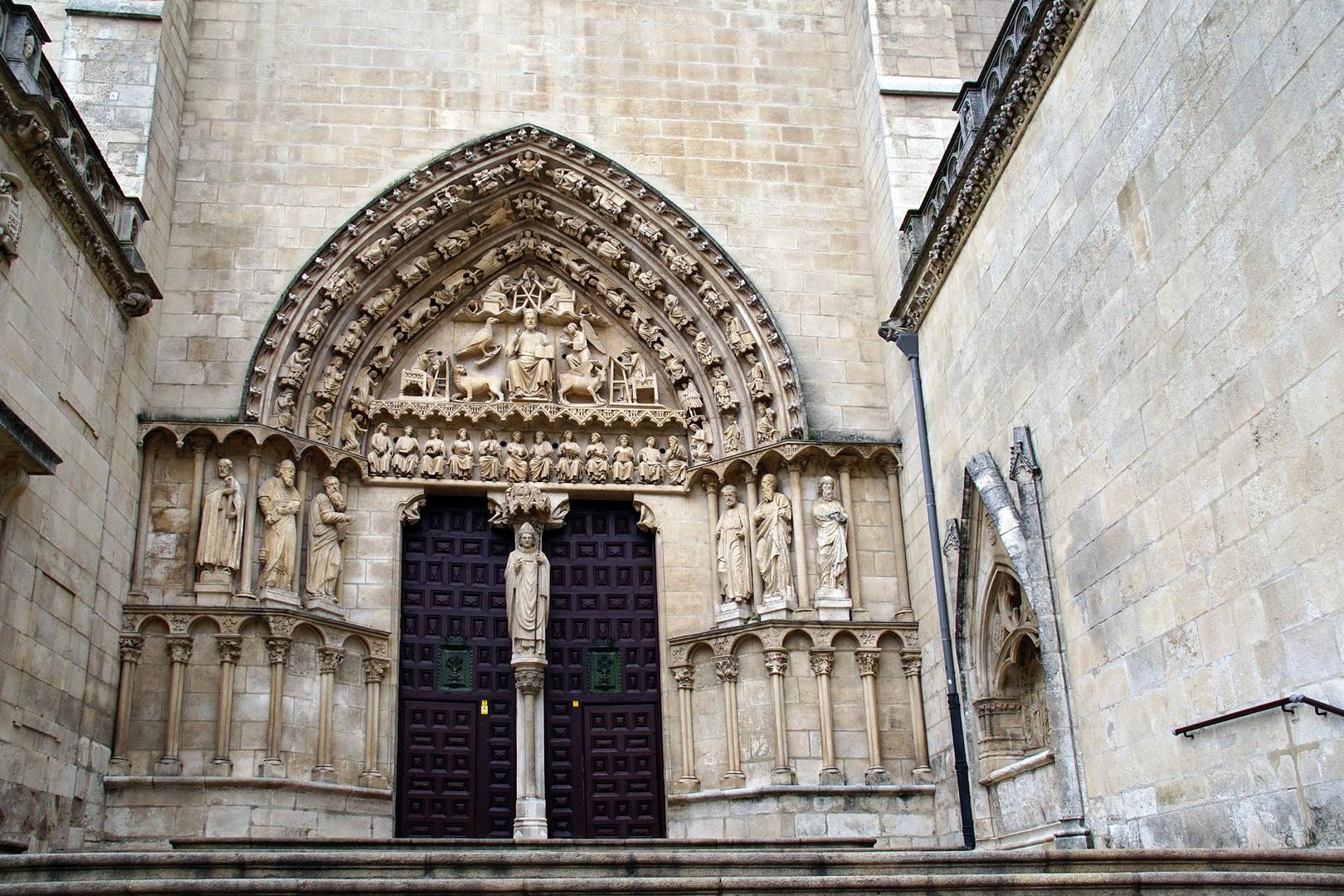 Gotisches Südportal der Kathedrale von Burgos