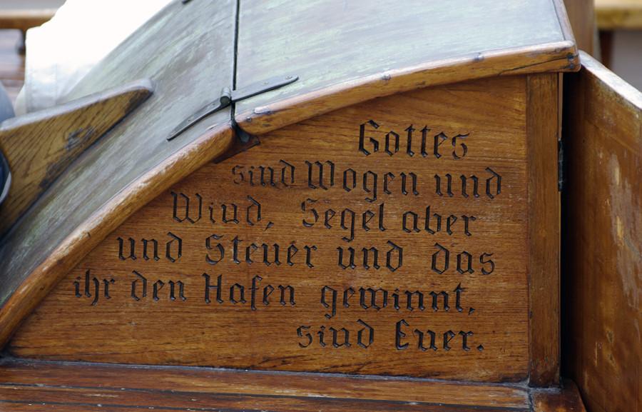 Gottes sind Wogen und Wind, ...