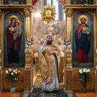 Gottesdienst im Kiewer Höhlenkloster 02