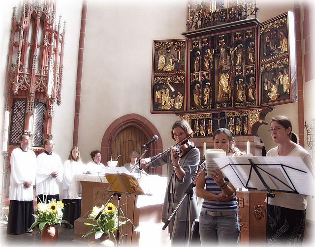Gottesdienst zum Gemeindefest