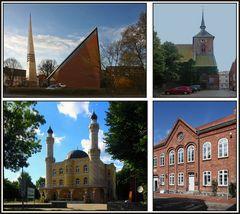 Gotteshäuser in Rendsburg.