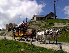 Gotthard-Postkutsche - Reisen wie vor 150 Jahren!