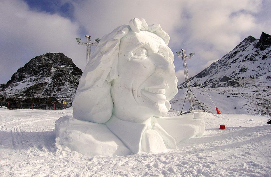 Gottschalk in Schnee