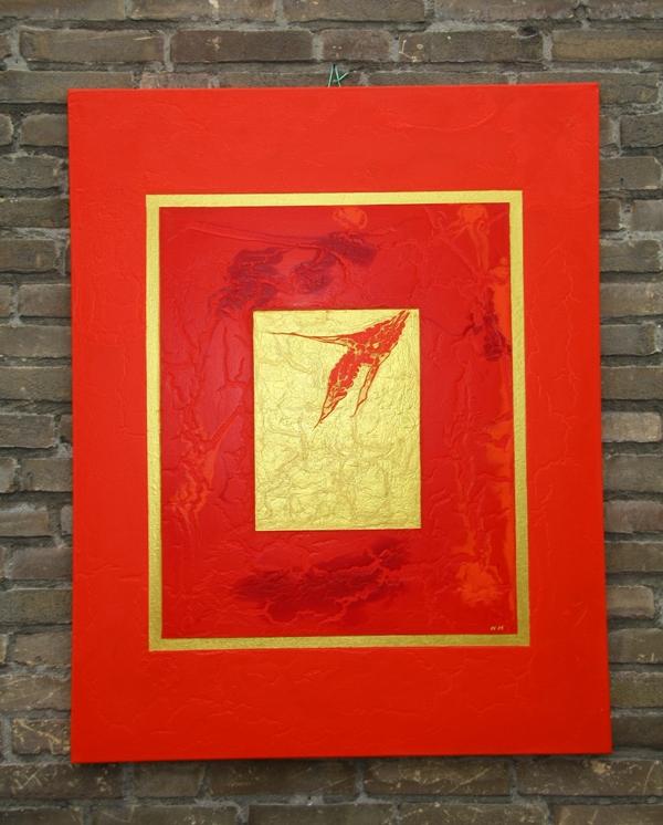 goud in rood