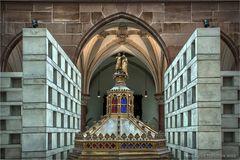 Grabeskirche St. Joseph Viersen ... vor der Eröffungswoche