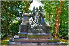 Grabmal Alfried Krupp in Essen-Bredeney