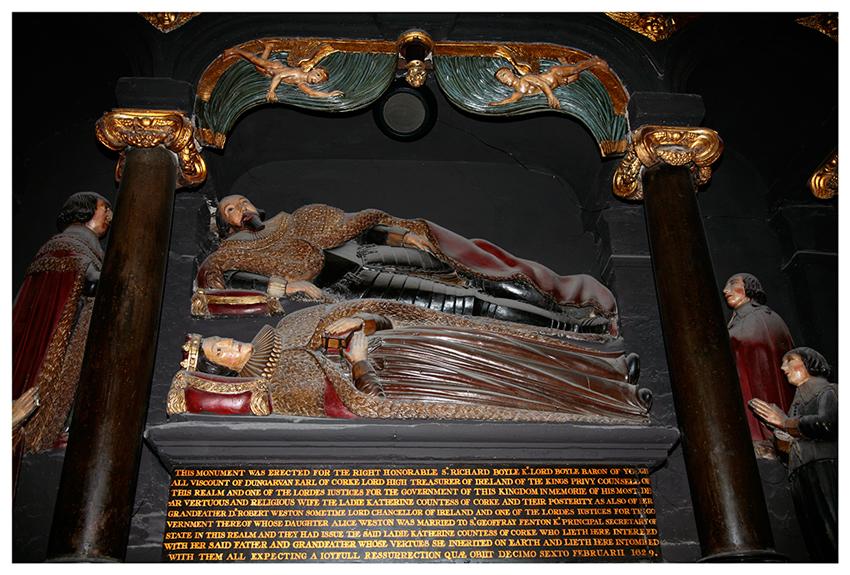 Grabmal in St Patrick,s Cathedral