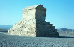 Grabmal von Kyros dem Großen in Pasargäda