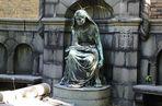 Grabmal von Luise und Carl Bechstein - Bechsteinflügel Sophienfriedhof