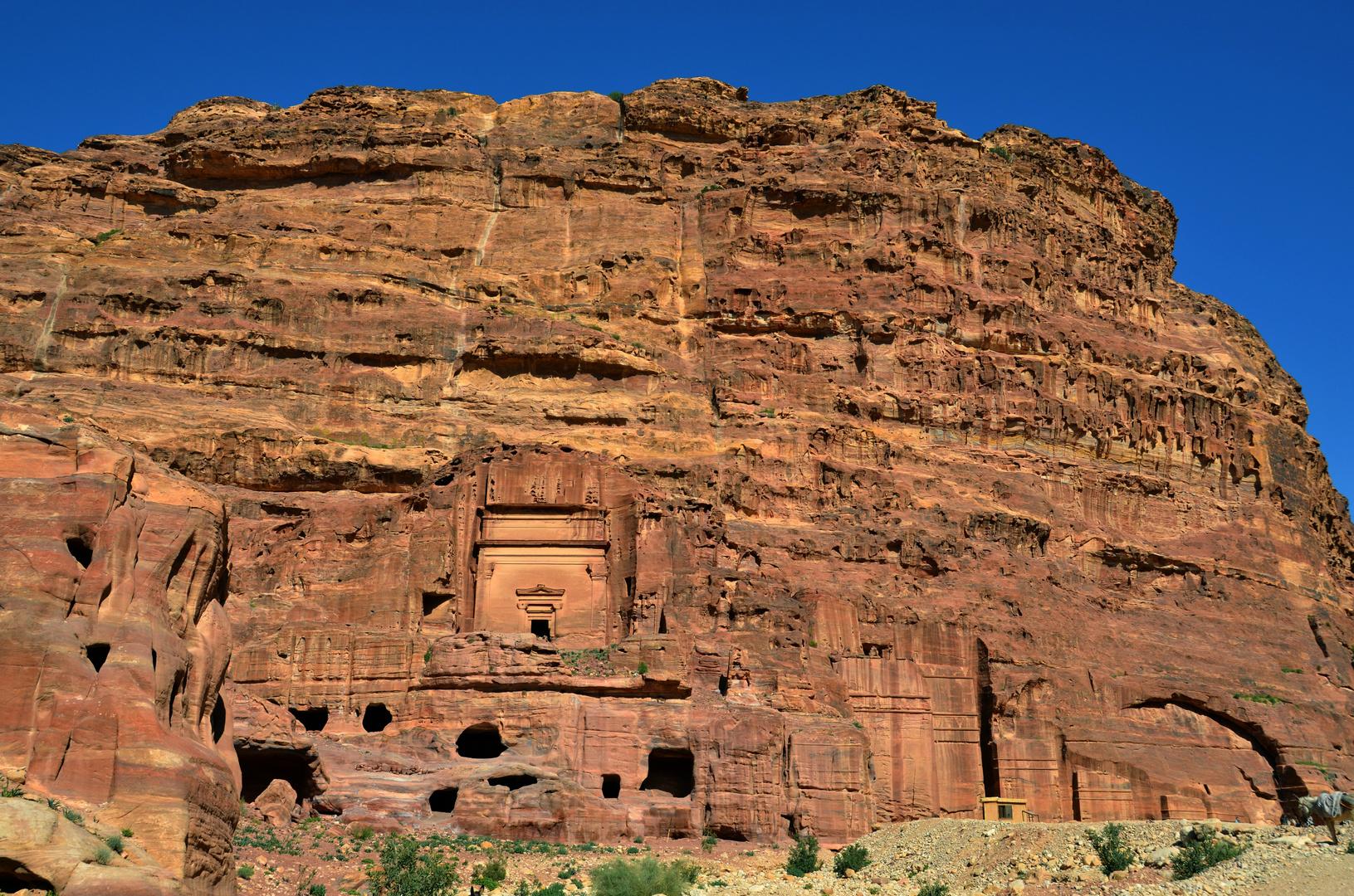 Grabstätten der Nabatäer in Petra