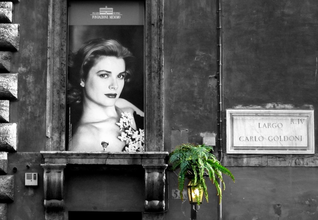 Grace Kelly a Roma