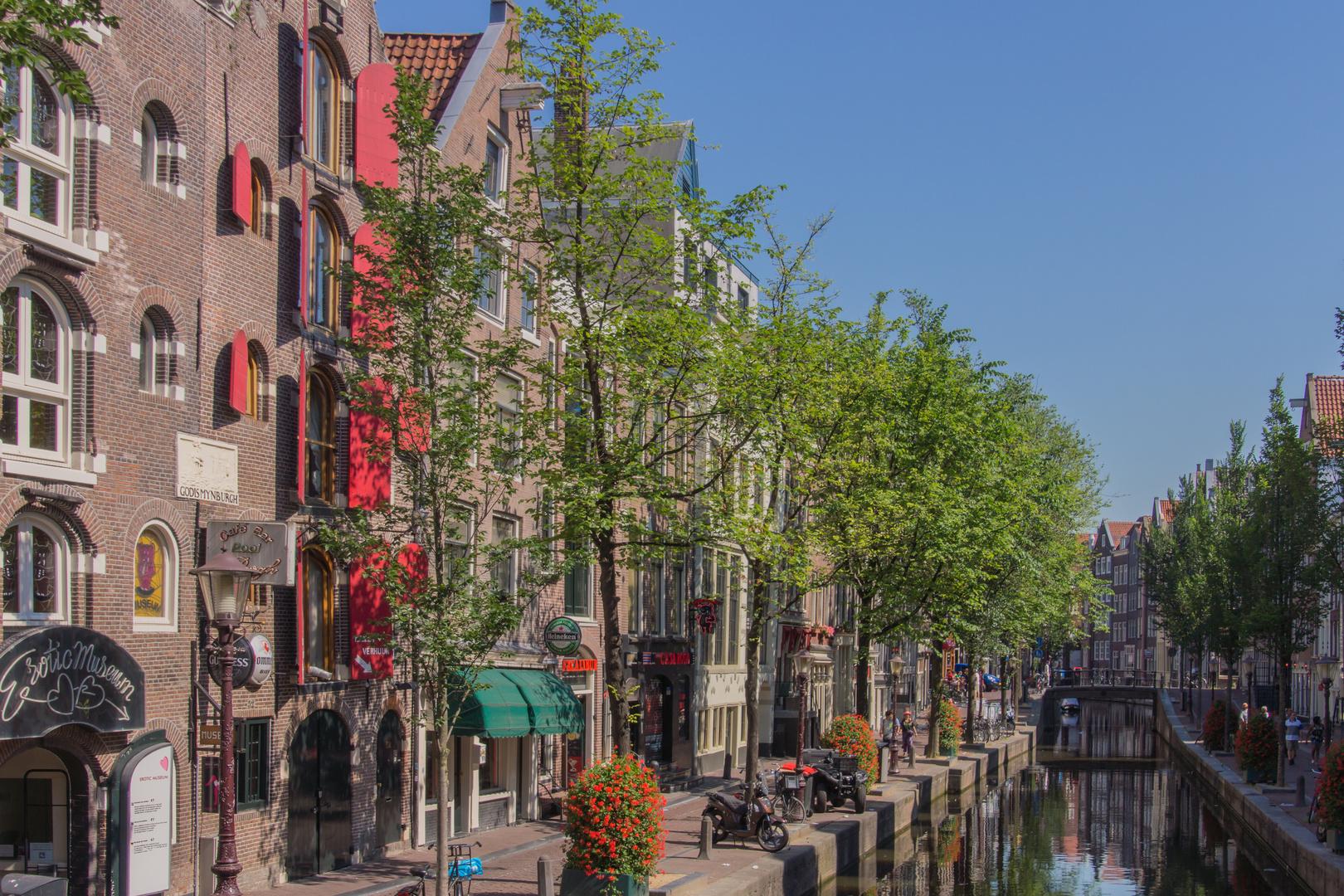 Grachtenansicht IV - Amsterdam