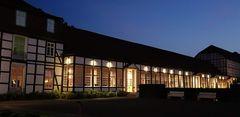 Gräflicher Park und Hotel  Bad Driburg zur blauen Stunde