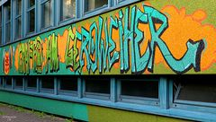 Graffiti am Geroweiher