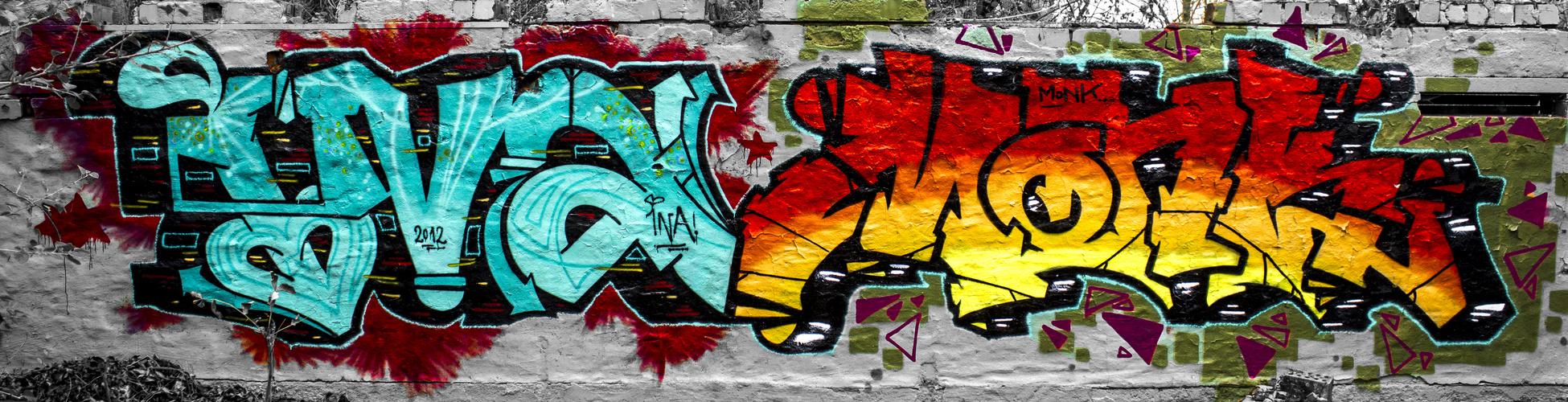 Graffiti an der Papiermühle 01