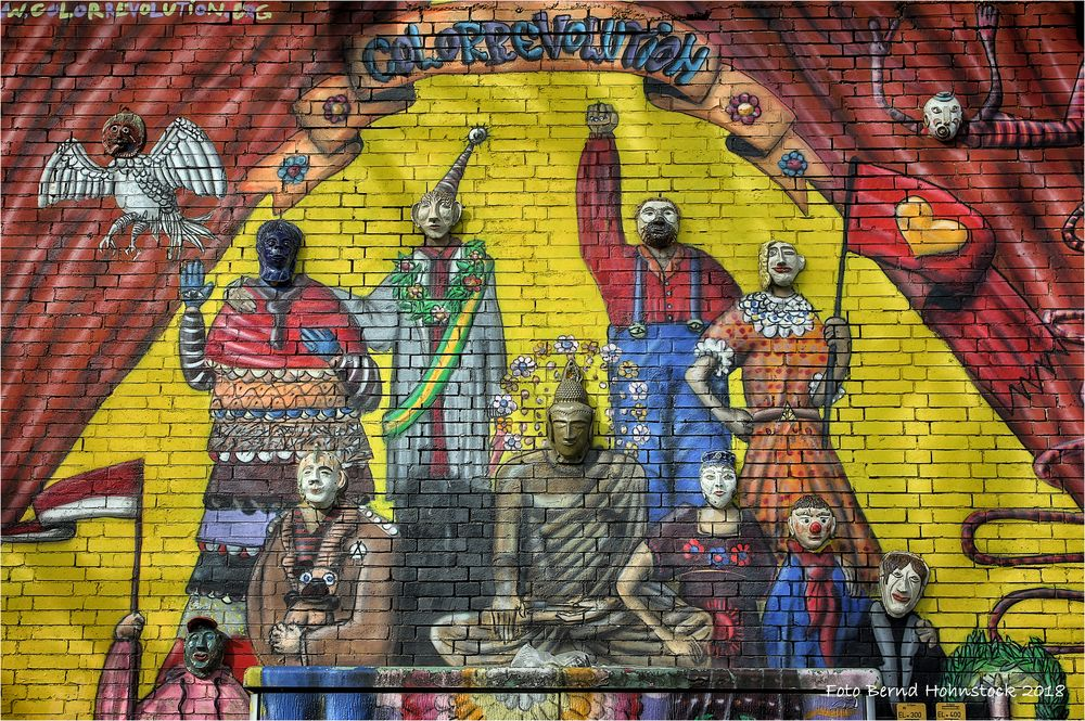 Graffiti aus Ehrenfeld .... Colorrevolution