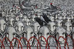 Graffiti aus Ehrenfeld .... zwei schwarze sind immer dabei