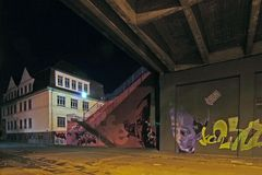 Graffiti bei Nacht (2)