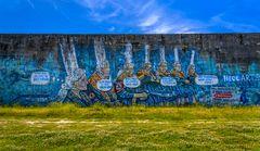 Graffiti Bigouden, Tréguennec, Bretagne, France