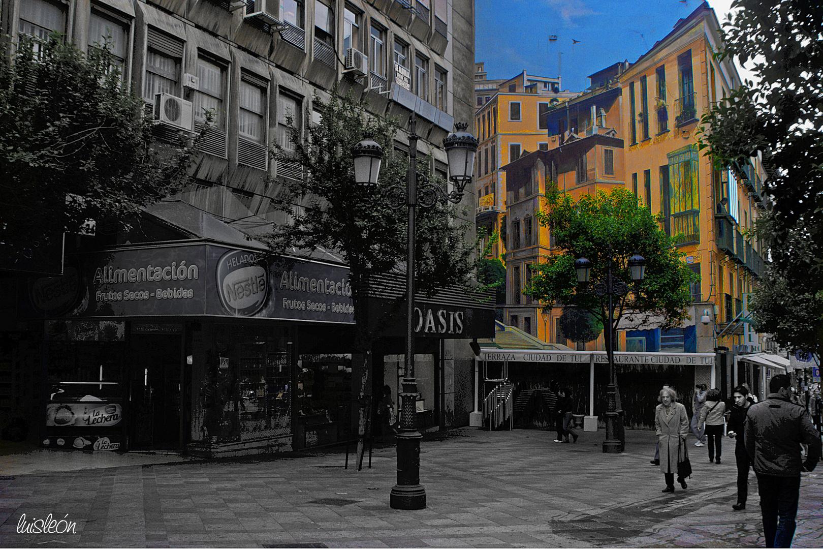 Graffiti calle de la Montera de Madrid (DEF0001)