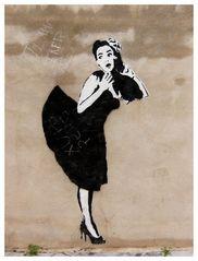 graffiti chica