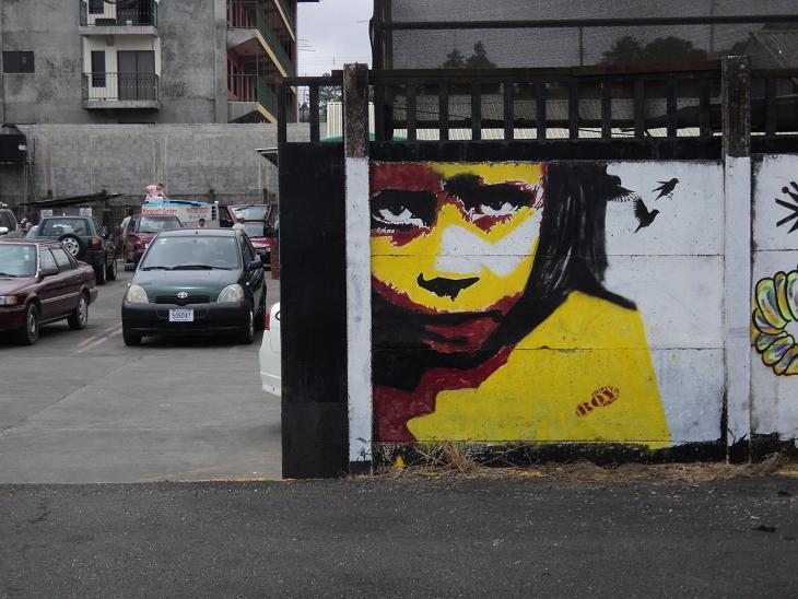 graffiti costa rica , Roy, San Ramon, Costa Rica, street art