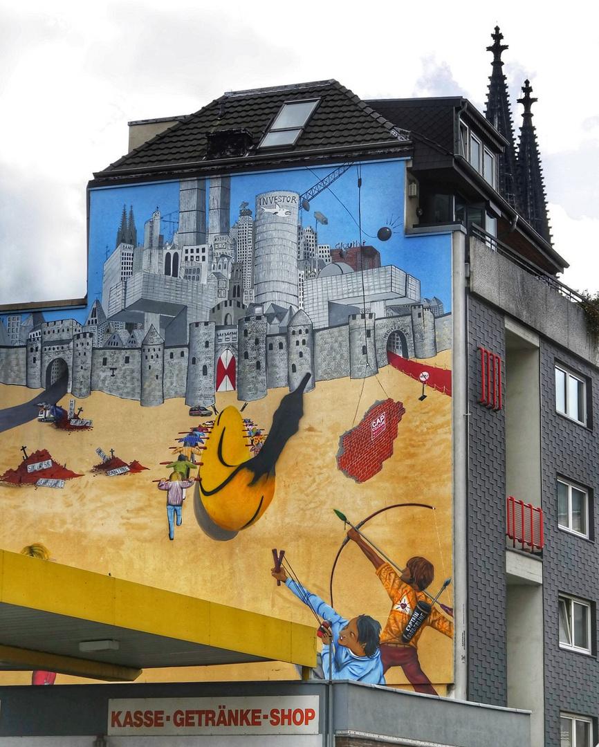 Graffiti de Cologne