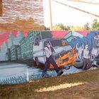 Graffiti die die Welt bedeuten