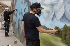 Graffiti- Die Künstler