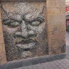Graffiti face.
