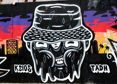 Graffiti Gasometro Ostiense