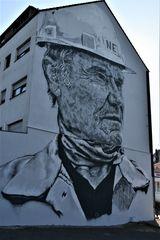 Graffiti Haus, Hüttenarbeiter